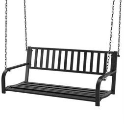 Hanging Porch Swing Bench Patio Deck Chair Swing Seat Outdoo