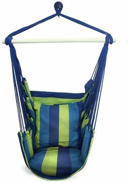 hanging rope hammock chair swing seat indoor