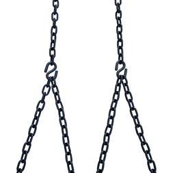 Barn-Shed-Play Heavy Duty 700 Lb Porch Swing Black Hanging C