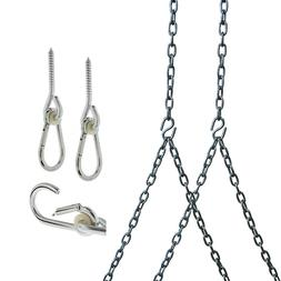 Barn-Shed-Play Heavy Duty 700 Lb Stainless Steel Porch Swing