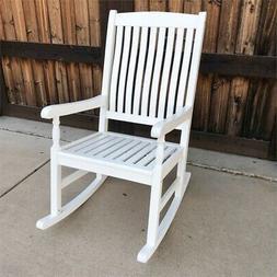 International Caravan Highland Porch Rocking Chair Antique W