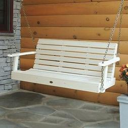Highwood 4ft Lehigh Porch Swing Whitewash