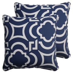 Pillow Perfect Outdoor Carmody Corded Throw Pillow, 18.5-Inc