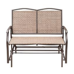 SunLife Outdoor Swing Glider 2 Person, Patio Furniture Loves