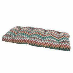Pillow Perfect Indoor/Outdoor Nivala Wicker Loveseat Cushion
