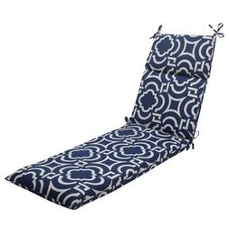 Pillow Perfect Indoor/Outdoor Carmody Chaise Lounge Cushion,