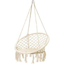 Best Choice Products Indoor/Outdoor Handmade Hanging Cotton