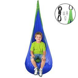 Sorbus Kids Child Pod Swing Chair - Hanging Seat Hammock Nes