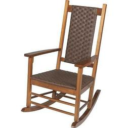Jack Post Knollwood Classic Woven Rocking Chair