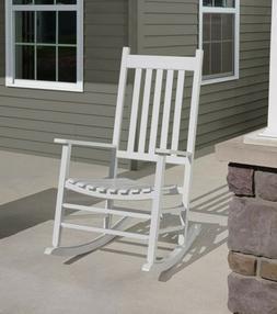 Jack-Post Knollwood Porch Rocker, White