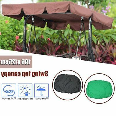 Outdoor Patio Porch Canopy Chair 3-Person Seat