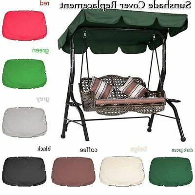 Outdoor Patio Canopy 3-Person Black