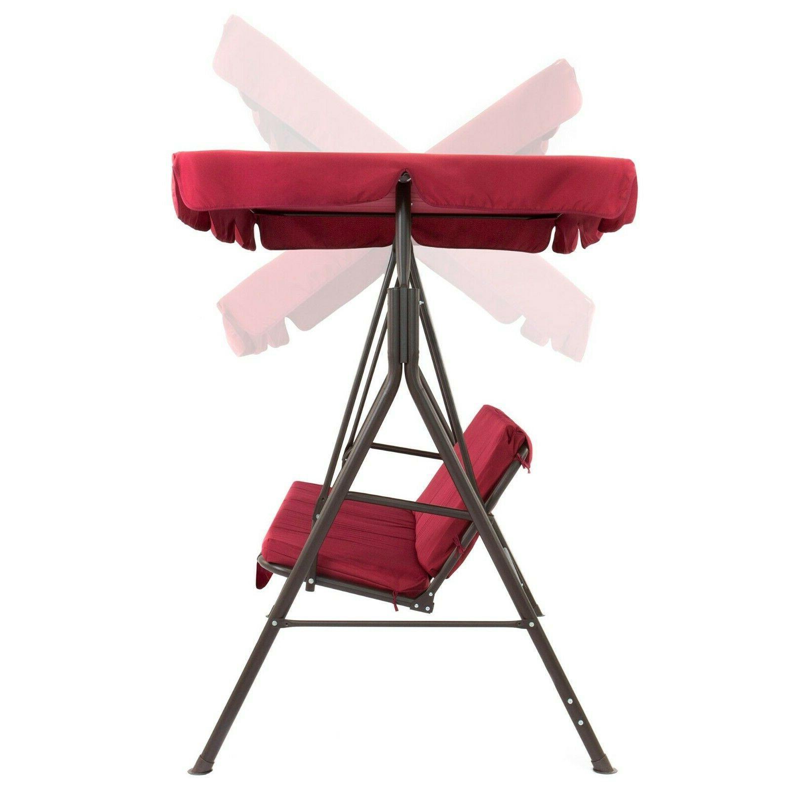 2 Swing Furniture Porch Bench Steel