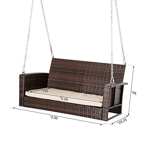 Outsunny Outdoor Resistant Hanging Swing -