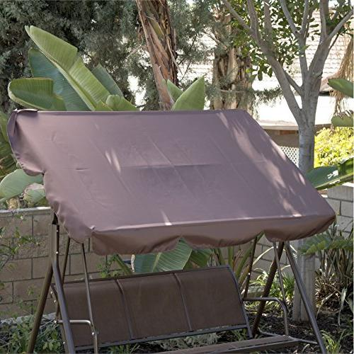 Belleze Porch Outdoor UV Resistant Steel Frame 3 Sunshade