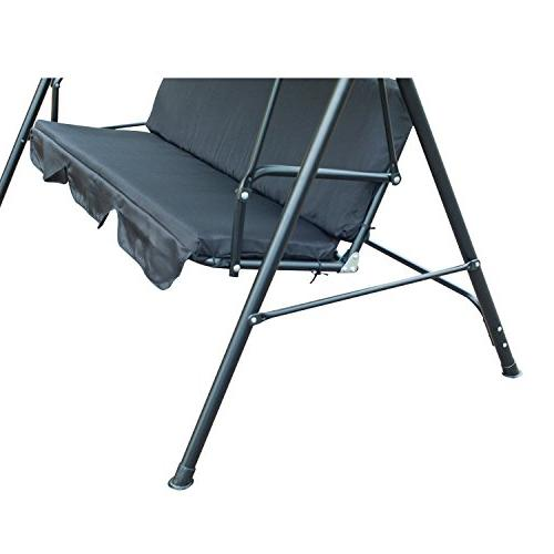 Outsunny 3 Person Canopy Porch Swing -