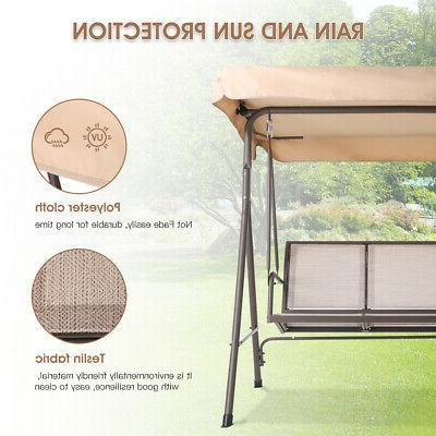 3-Person Patio Steel Frame