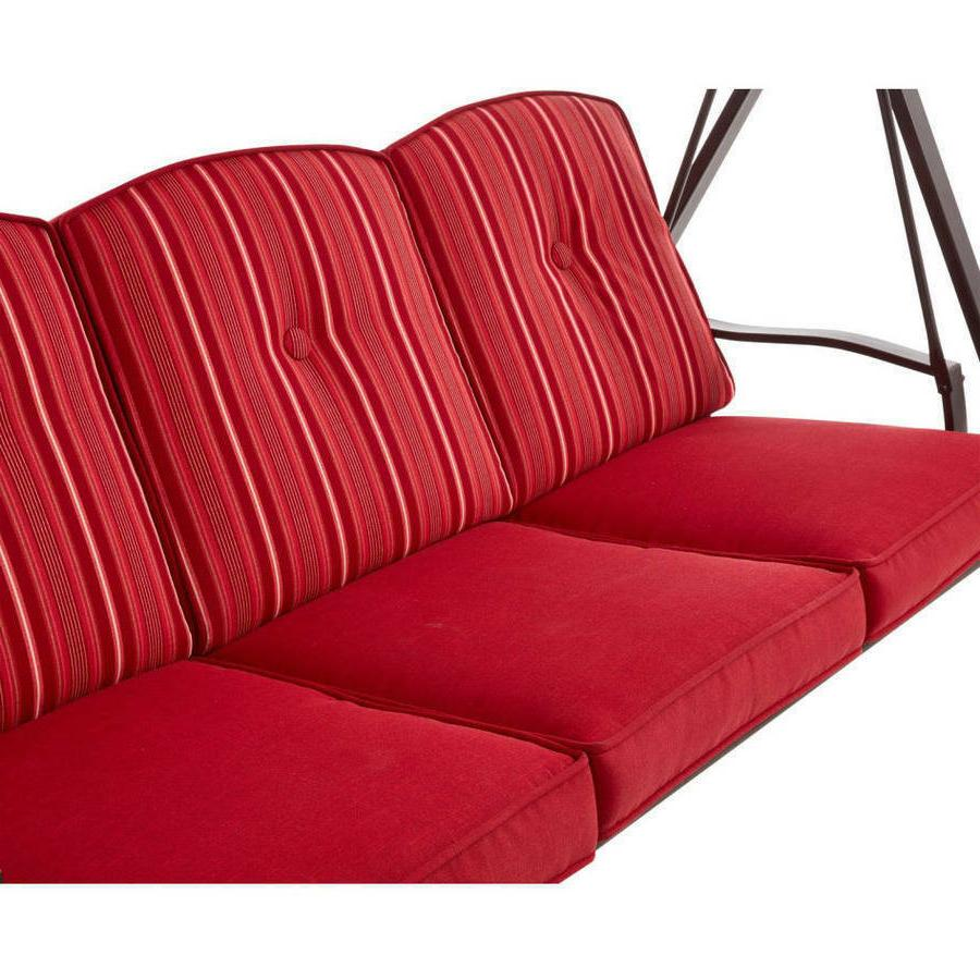 Red Cushion Outdoor Seat Person Patio Chair Adjustable New