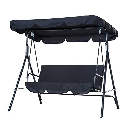 3 person steel porch sling