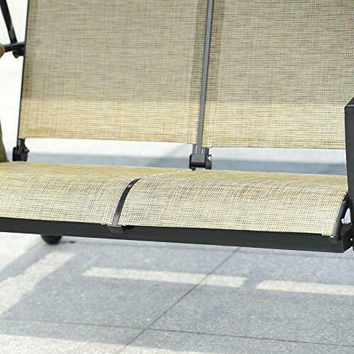 3-Seat Porch w/ Resistant Frame,
