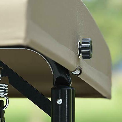 3-Seat Deluxe Patio Porch Resistant