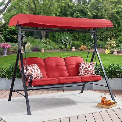 3-Seat Deck Cushion Outdoor Chair