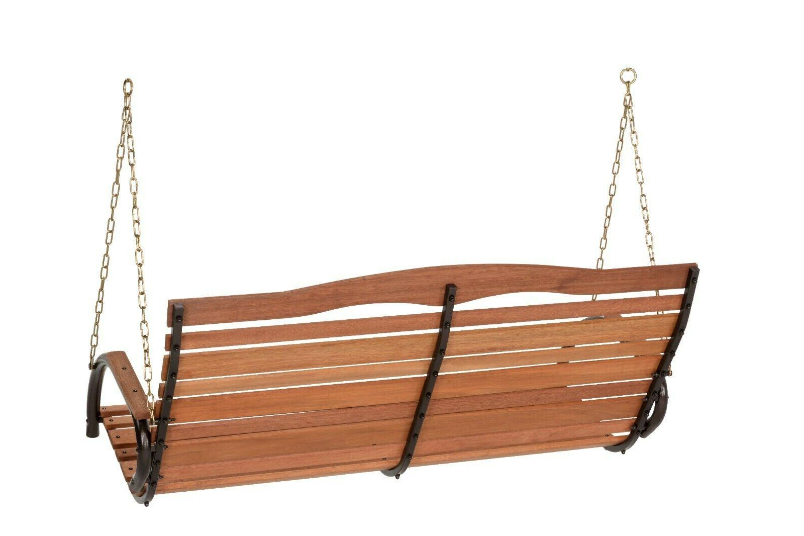 """48"""" Porch Swing Brown"""