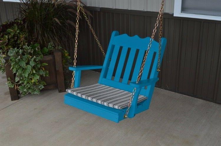 A&L Furniture Amish-Made Pine Royal English - 4 Sizes 18