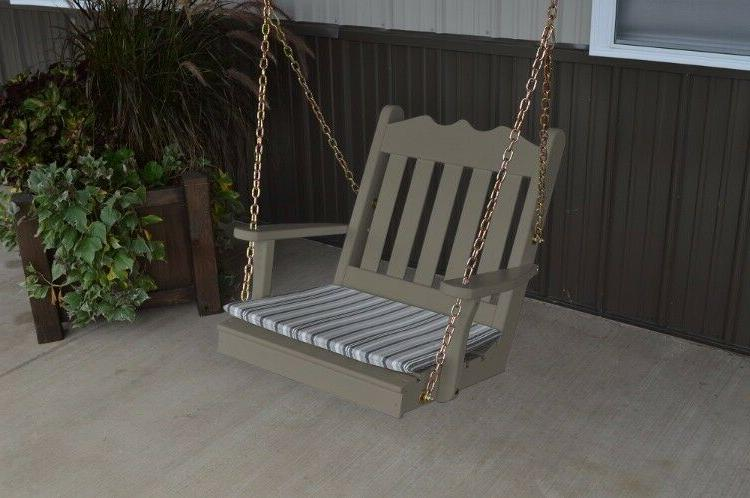 A&L Furniture Amish-Made Pine Royal - 4 18 Colors