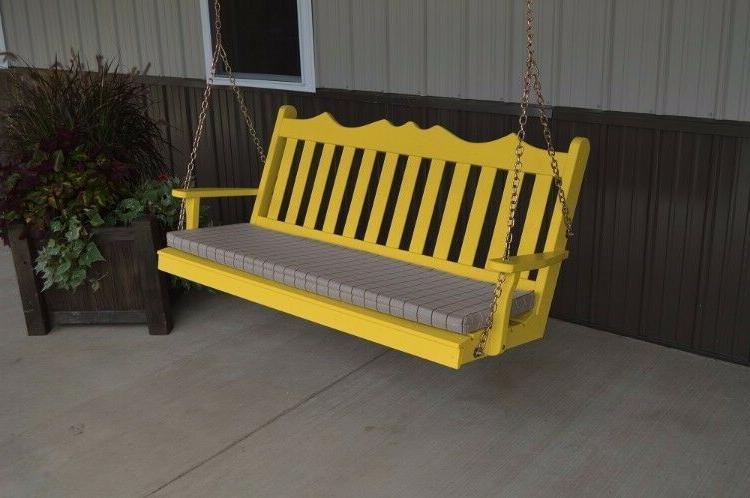 A&L Furniture Royal English Porch Swings - 18