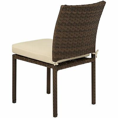 BCP Set of Stackable Chairs w/