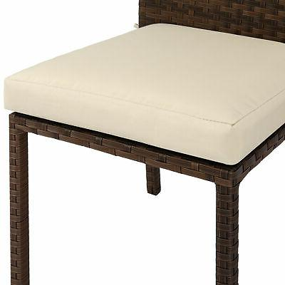 BCP of Stackable Patio Chairs Cushions,