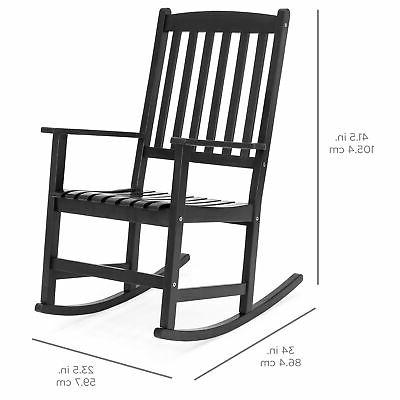 BCP Wooden Rocking Chair -