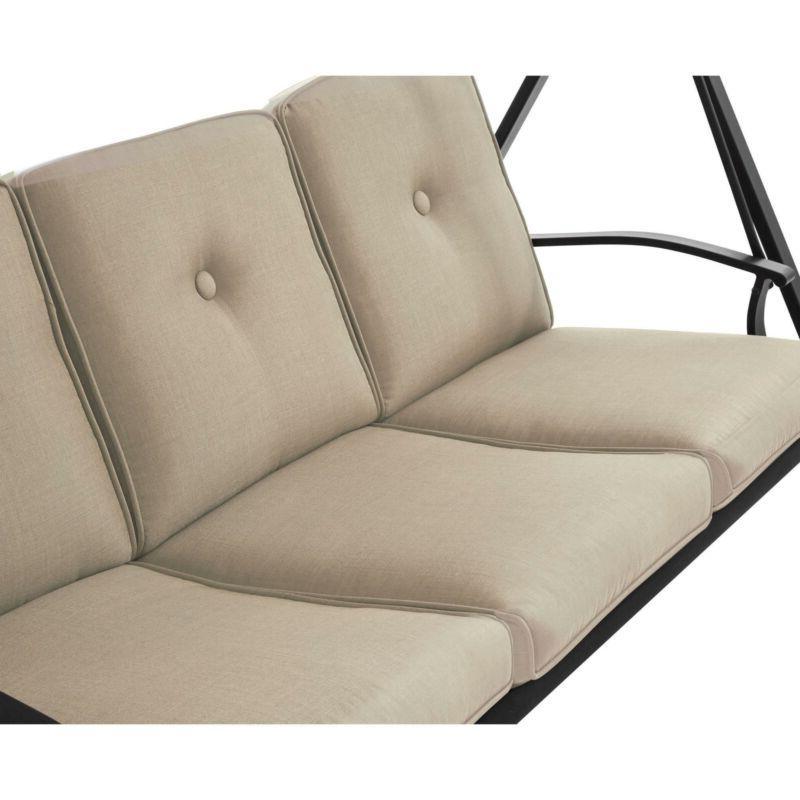 Heavy Steel w/Canopy Cushions