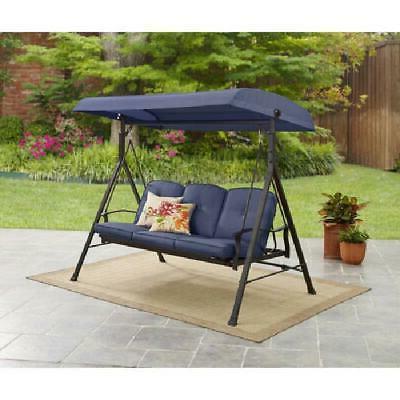 belden park outdoor 3 seat porch swing