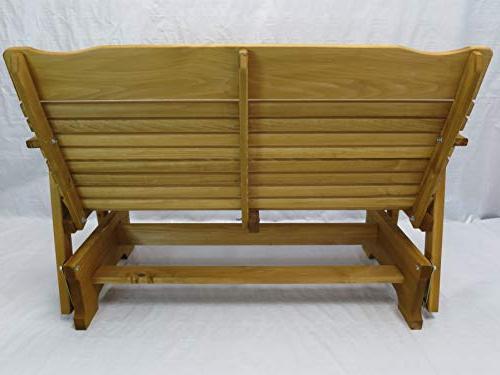 Kilmer Creek Cedar Porch Glider Amish Crafted
