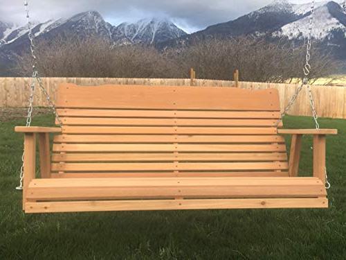 Kilmer Creek Porch Swing Amish Includes