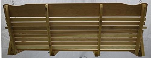 Kilmer 5' Cedar Porch Swing Amish Chain & Springs