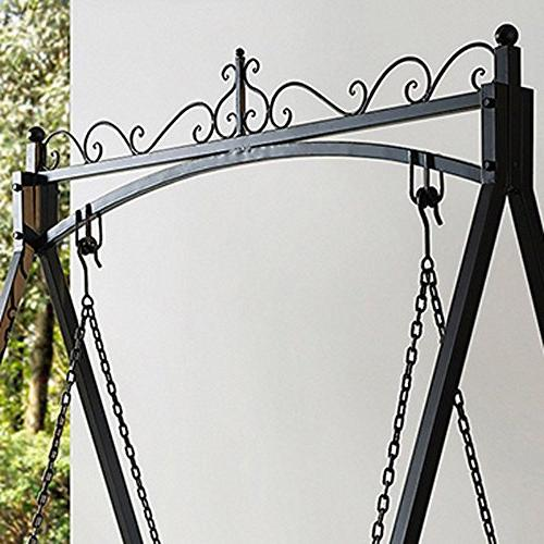 Classic And All Metal Outdoor Porch With In