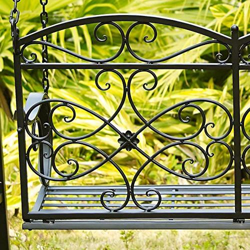 Classic And Sturdy Metal Outdoor With and In Black