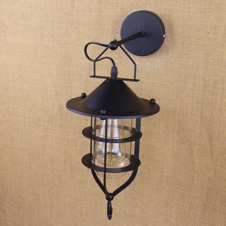 E27 Vintage Industrial Lamp Creative Arm Balcony <font><b>Porch</b></font> Wall Light
