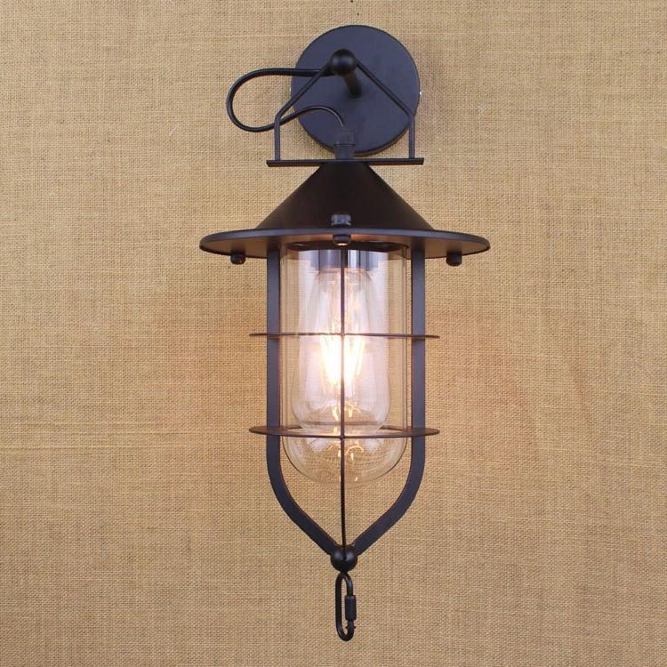 E27 Vintage Wall Lamp Creative <font><b>Swing</b></font> Arm Balcony <font><b>Porch</b></font> Restaurant Wall Light