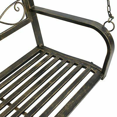 Porch Hanging Iron Outdoor Patio Person