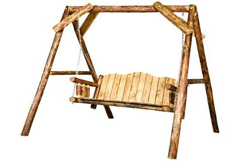 glacier country collection lawn swing