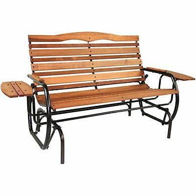 Jack Glider Wood Bench Chair Furniture