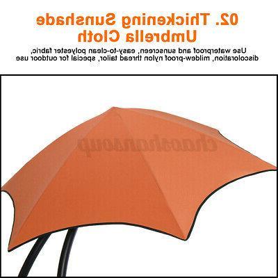 Hammock Chair with Patio Sun Shade Canopy