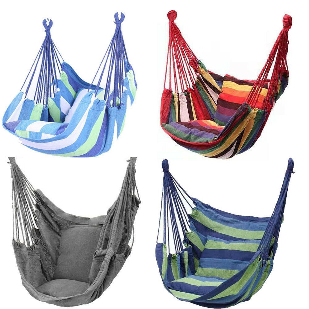 hammock hanging rope portable hammock chair swing