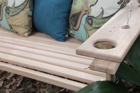 4 Handmade Porch Swing Proudly in USA