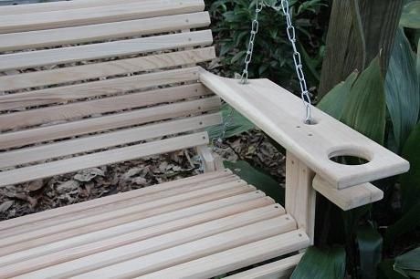 4 Foot Porch Swing Proudly Handmade in the USA
