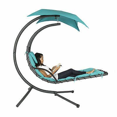 hanging chaise lounger arc stand air porch